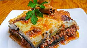 Traditional Greek Mousaka